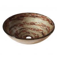 Avanity Corporation Copper Swirl Glass Vessel Sink