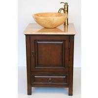 Silkroad Exclusive 22 Inch Single Sink Bathroom Vanity