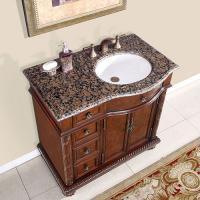 Silkroad Exclusive 36 Inch Single Sink Bathroom Vanity