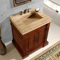 Silkroad Exclusive 32.5 Inch Single Sink Bathroom Vanity
