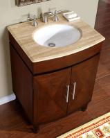 28 inch single sink bathroom vanity with granite counter top uvsr020728 28 Bathroom Vanity