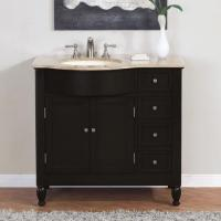 38 Inch Modern Single Bathroom Vanity