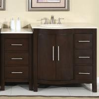 53.5 Inch Modern Single Bathroom Vanity