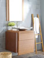 30 Inch Single Sink Bath Vanity in Bamboo
