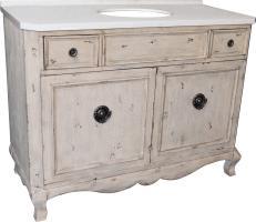 48 Inch Single Sink Bathroom Vanity in Aged Pine