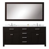 72 Inch Double Sink Bathroom Vanity with Ample Storage