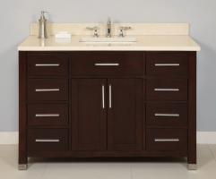 Empire 48 Inch Single Sink Bathroom Vanity