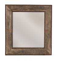 Natural Oak Rectangular Mirror