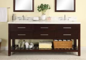 Empire 72 Inch Double Sink Bathroom Vanity