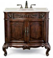 38 Inch Single Sink Bathroom Vanity with Choice of Counter Top