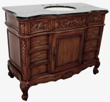 45.5 Inch Single Sink Bathroom Vanity with 8 Small Drawers