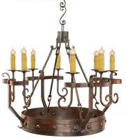 8 Light Renaissance Chandelier