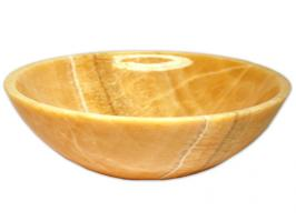 Eden Bath Honey Onyx Vessel Sink
