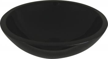 Quiescence Black Granite Vessel Sink