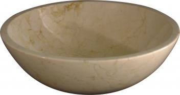 Quiescence Crema Marfil Marble Vessel Sink
