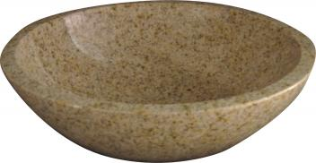 Quiescence Gold Granite Vessel Sink