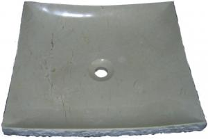 Crema Marfil Granite Vessel Sink