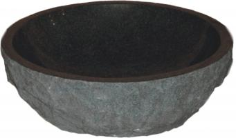 Quiescence Charcoal Granite Vessel Sink