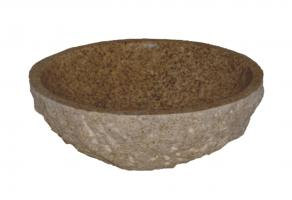 Gold Granite Vessel Sink