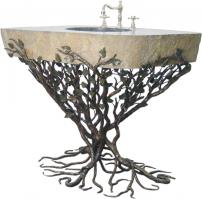 32 Inch Vessel Sink Pedestal with Choice of Finish