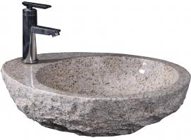 G682 Granite Oval Vessel Sink