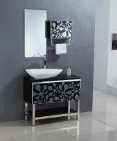 35.5 Inch Single Sink Bathroom Vanity