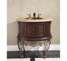 32 Inch Single Sink Bathroom Vanity with Choice of Countertop