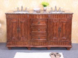 shop double bathroom vanities 61 to 72 inches with free shipping!