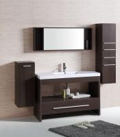 47 Inch Single Sink Bath Vanity in Clove Brown