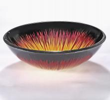Multi Colored Round Vessel Sink