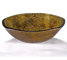 Gold Round Vessel Sink