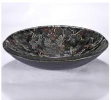 Dark Grey Round Vessel Sink