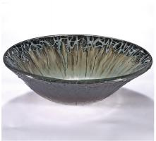 Dark Silver Round Vessel Sink