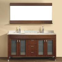 Art Bathe 63 Inch Double Sink Bathroom Vanity