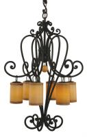 4 Light Campana Chandelier