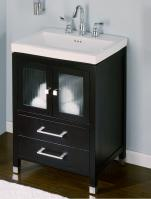 24 Inch Single Sink Modern Bathroom Vanity with Choice of Finish