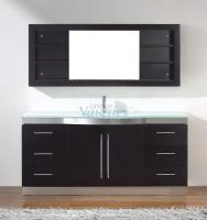 72 Inch Single Sink Bathroom Vanity with Choice of Top in Chai