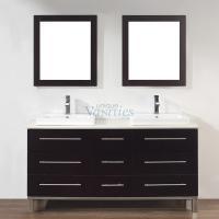 Art Bathe 63 Inch Double Sink Bathroom Vanity