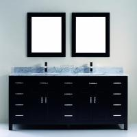 Art Bathe 75 Inch Double Sink Bathroom Vanity