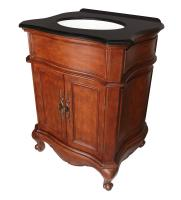27 Inch Single Sink Bathroom Vanity in Mahogany