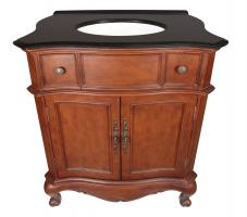 32 Inch Single Sink Bathroom Vanity in Mahogany