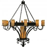 13 Light Trevi Chandelier with Onyx