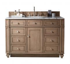 48 Inch Single Sink Bathroom Vanity in White Washed Walnut