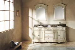 Bathroom Vanity on 72 Inch Double Sink Bathroom Vanity In Antique White Uvjmf206001552172