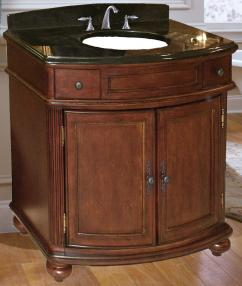 37 Inch Single Sink Bathroom Vanity With Choice Of Top