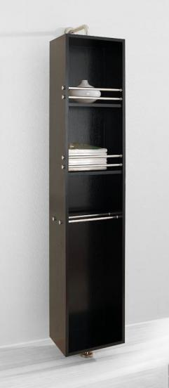 Rotating Bathroom Linen Cabinet With Mirror UVVUESC711