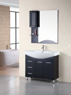 40 Inch Modern Single Sink Bathroom Vanity In Espresso
