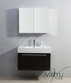 Bathroom Vanity on 36 Inch Single Sink Bathroom Vanity In Wenge Brown Uvvu50136wg35