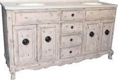 67 inch double sink bathroom vanity in aged pine uvlklk3167