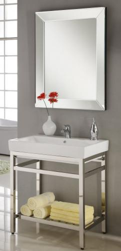31 Inch Industrial Console Bathroom Vanity Custom Options